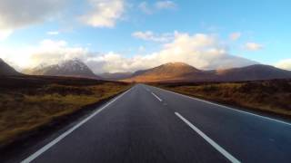 Driving through Glen Coe - Scottish Highlands - In 7 minutes