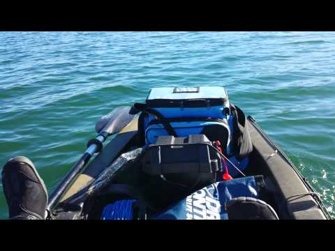 Video 2014 new ascend fs12t kayak review part 3 inner for Ascend 12t trolling motor