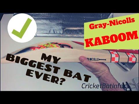 The BIGGEST Bat I have ever reviewed   KABOOM