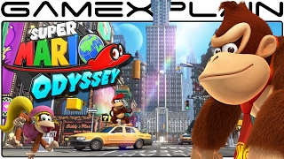 Super Mario Odyssey - All SECRET Donkey Kong Country Easter Eggs in New Donk City + Overview