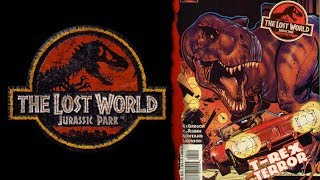 The San Diego Incident - The Lost World: Jurassic Park - Comic Review - Part 4