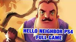 HELLO NEIGHBOR PS4 FULL GAME