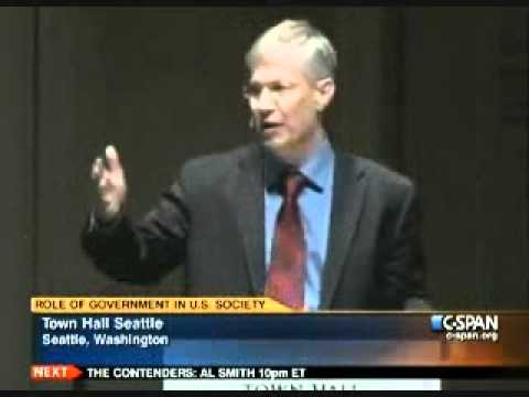 Seattle Town Hall Debate: What is the Proper Role of Government? 11-30-11 (3 of 3)
