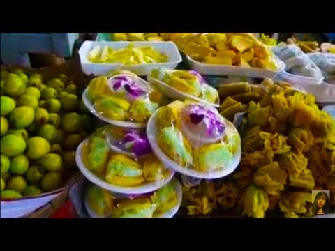 Asian Street Food - Amazing Country Food Compilation Selling In Phnom Penh Market - Cambodia (countr