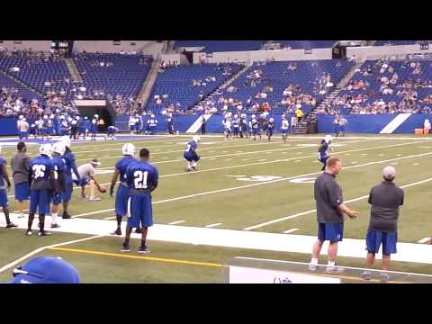 Colts 2013 Manditory MiniCamp Practice