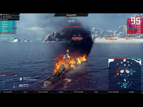 [95th] [WoWS-EU] Wednesday shipping forecast - Clan Battles? (221117)