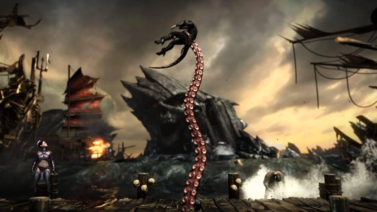 Mortal Kombat X Kitana Stage Fatality Inputs Youtube