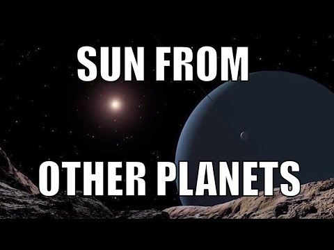 How Does The Sun Look Like from Other...
