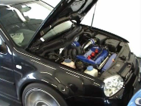 jbs ts650 r32 turbo kit vw golf on the dyno youtube. Black Bedroom Furniture Sets. Home Design Ideas
