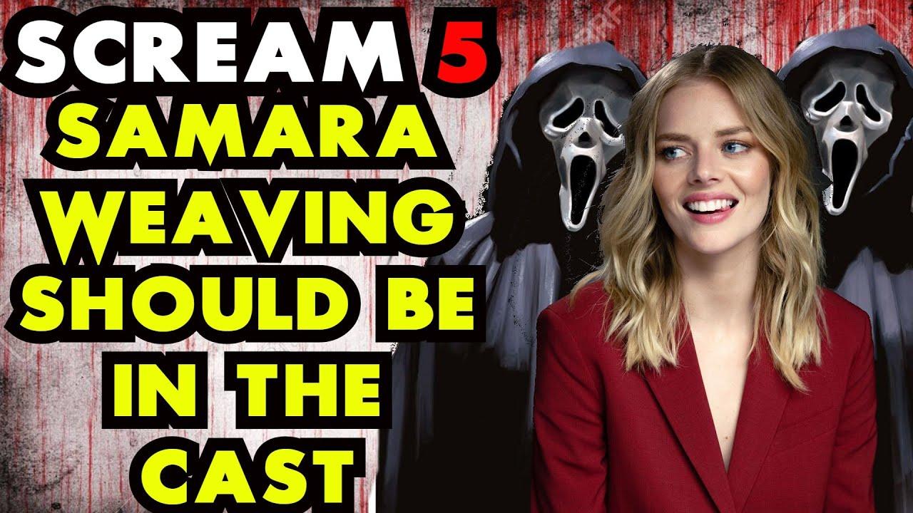 Scream 5 | Will Samara Weaving Be The Opening Ghostface Kill?