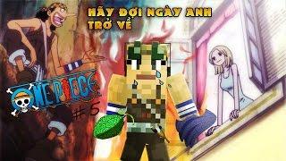 Minecraft One Piece Tập 5 : USOPP ĂN CẢ 2 TRÁI ÁC QUỶ @@  Tigerr ✔