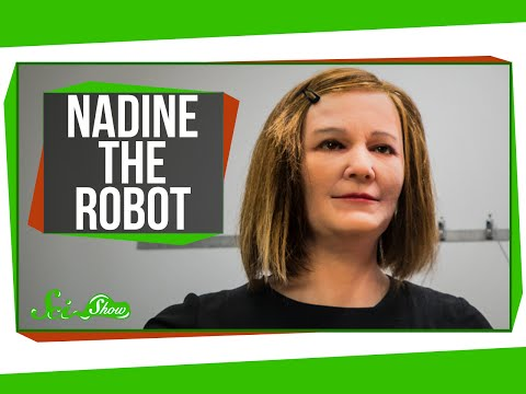Nadine The Robot Is Amazing And Creepy