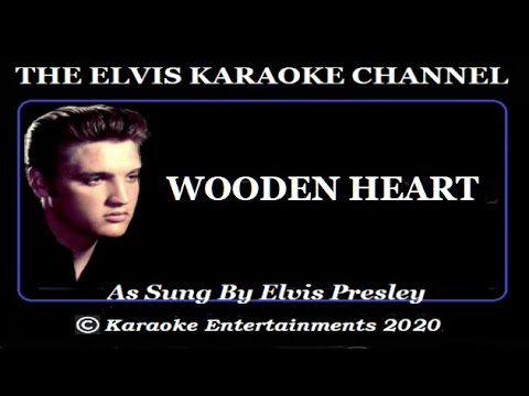 Elvis At The Movies Karaoke Wooden Heart