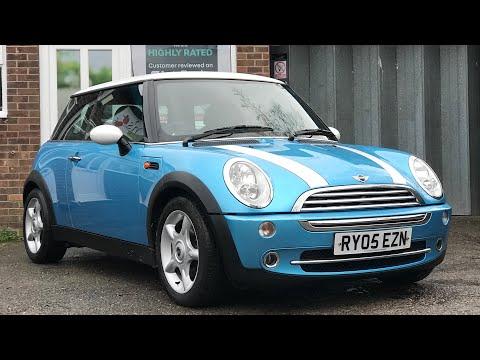 Used 2005 MINI Cooper Island Blue Review For Sale via Small Cars Direct, New Milton, Hampshire