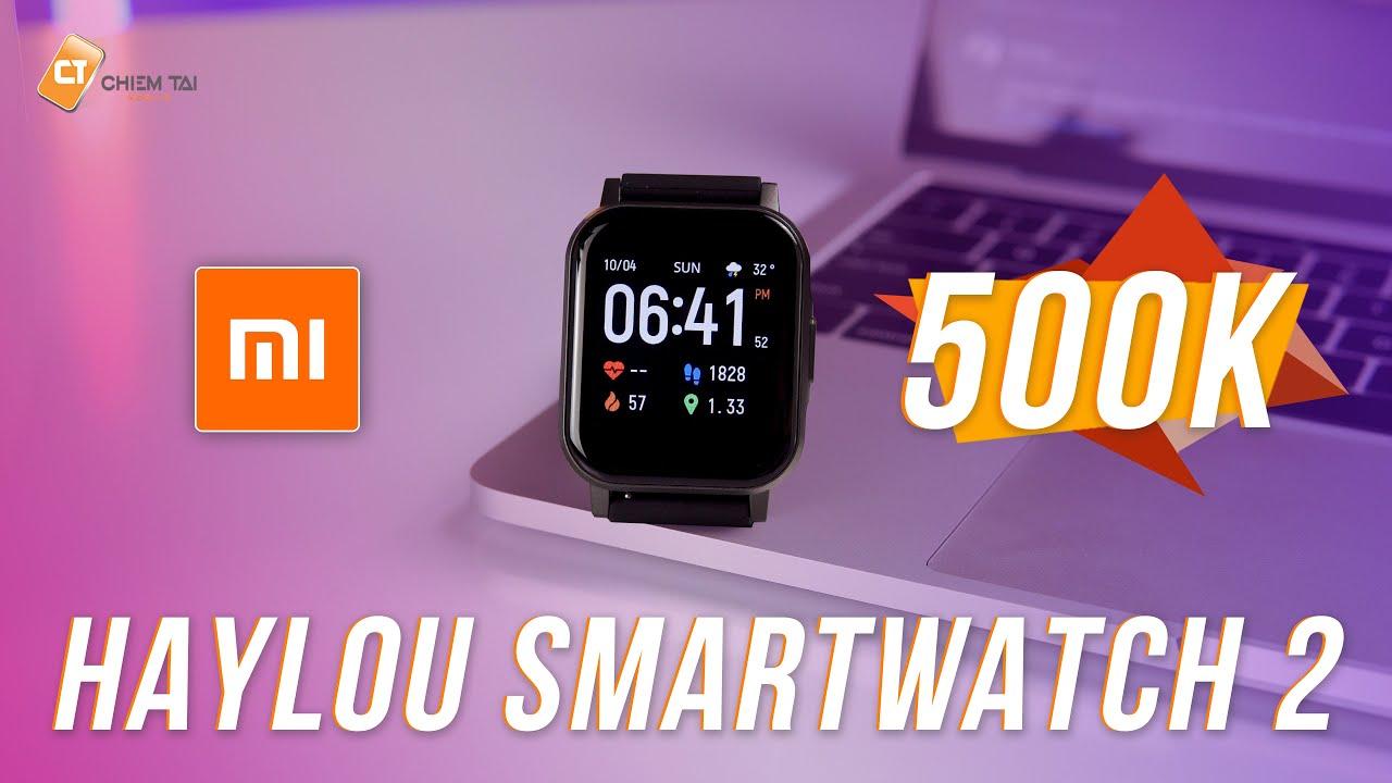 Haylou Smartwatch 2 Quốc Tế – Giá Siêu Rẻ Chỉ 500K, Màn Hình Đẹp, Nhiều Chức Năng, Pin 20 Ngày!