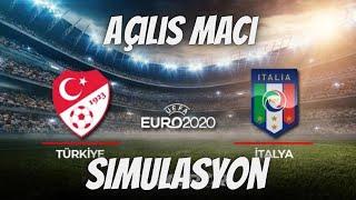 Türkiye - İtalya | EURO 2020 Açılış Maçı Simülasyon !
