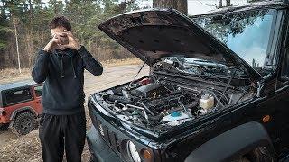 Большая проблема маленького Suzuki Jimny 2019