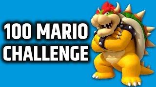 SUPER MARIO MAKER - Expert 100 Mario Challenge - 5tat