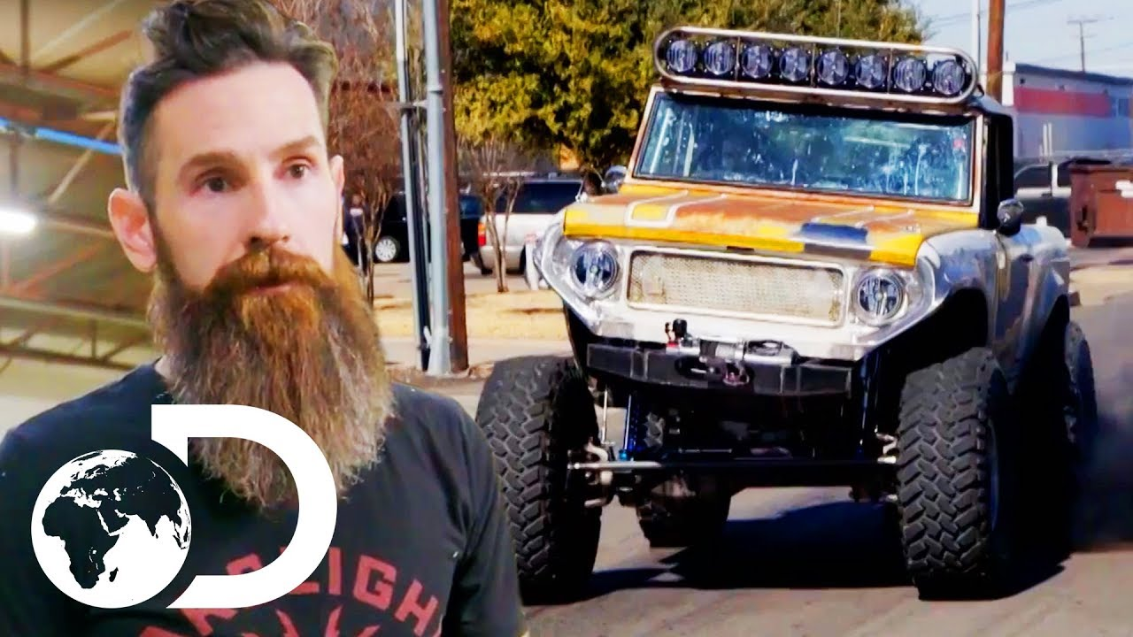 Getting A Beaten Up Old Scout Ready For Crazy Off Road Race Shifting Gears With Aaron Kaufman