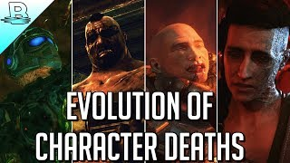 Evolution of Major Character Deaths | Gears of War 1-4 (2006-2016) HD 60fps
