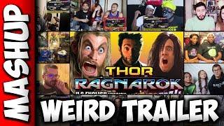 THOR RAGNAROK Weird Trailer Reactions Mashup