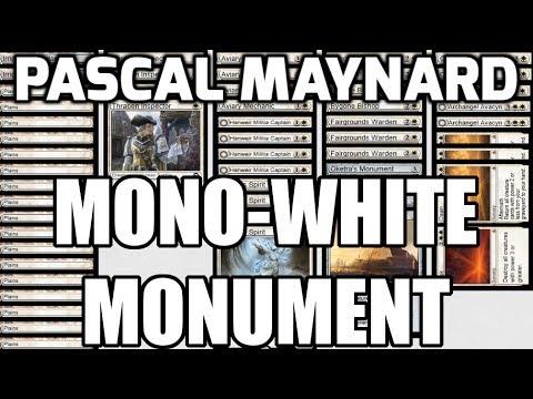 Channel PMayne - Standard Mono-White Monument (Deck Tech & Matches)