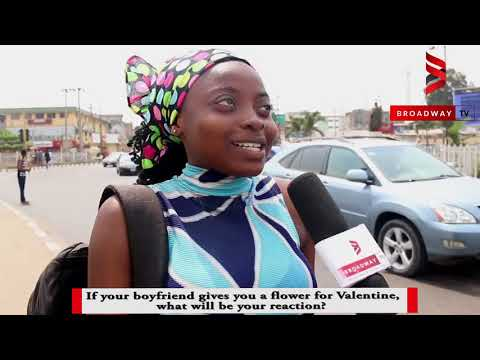 VOX POP: If your boyfriend gives you flower, will you accept it?