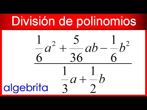 Derivada division de polinomios