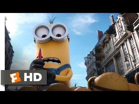 Minions 910 Movie CLIP - Kevin Saves the Day