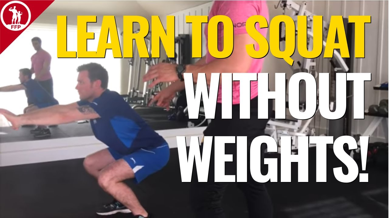 Bodyweight Squats For Beginners [How To Do Squats Without Weights]