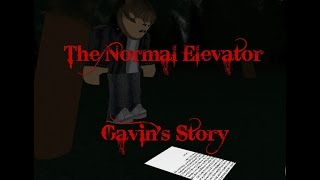 roblox the normal elevator gavin's secret code