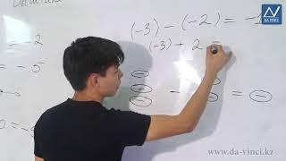 6 класс, 10 урок, Вычитание целых чисел