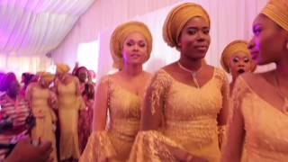 Stephanie Coker and Olumide Aderinokun Traditional Wedding in Lagos State