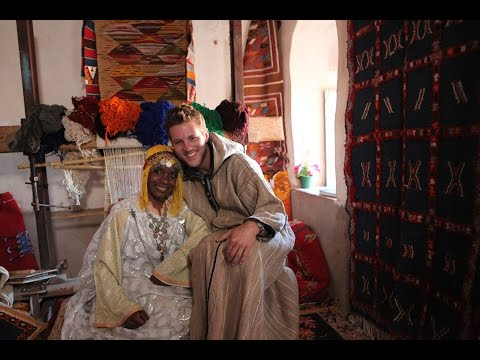 Ancient Fortified City and Berber Weavers. Morocco!