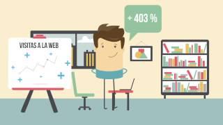 Infografía animada: Vídeo online. Videos explicativos animados