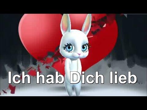 Bunny ICH HAB DICH LIEB von Zoobe deutsch