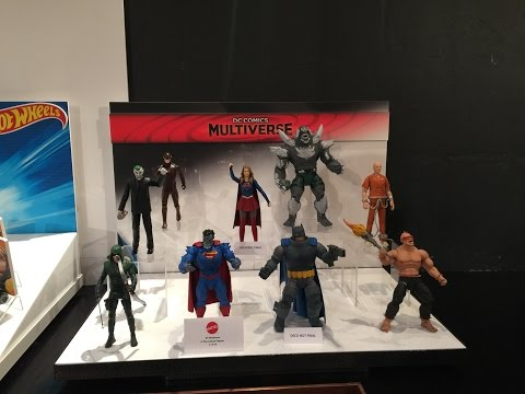 Mattel Collector Preview Event at New York Toy Fair 2016 (DC Comics Multiverse, Suicide Squad, BvS)