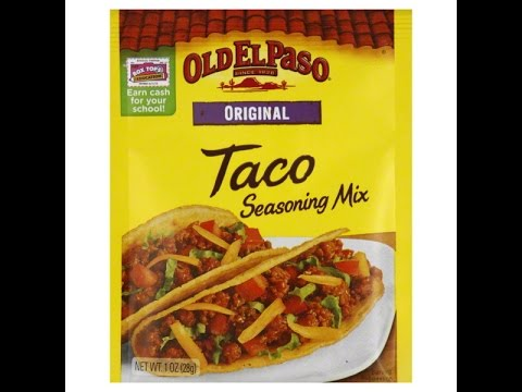 How To Make Old El Paso Taco Seasoning From Scratch Youtube