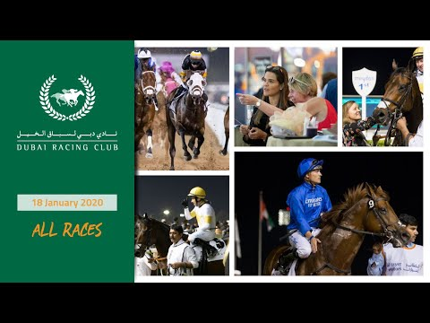 [ALL RACES] Racing At Meydan - 18 January 2020