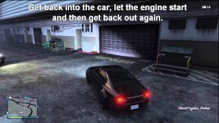 How to leave your headlights on once you exit your car in GTA V