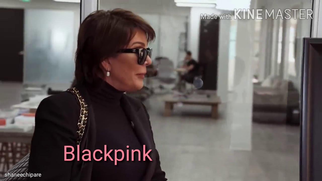 BLACKPINK as KARDASHIANS part 2