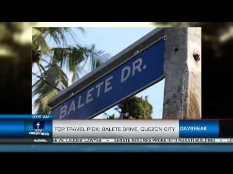 Top Travel pick: Balete Drive, Quezon City