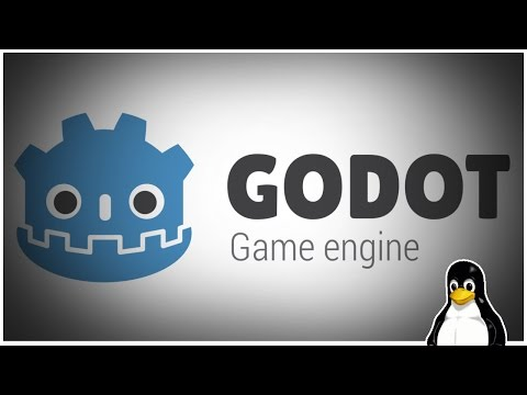 GODOT  engine - A Linux, Open source, game creation tool.