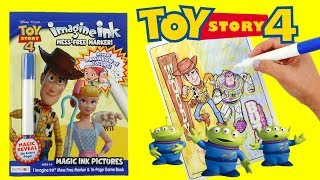 Toy Story 4 Imagine Ink Activity Book and Coloring with Magic Marker