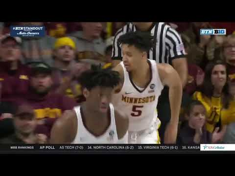 Highlights: Gopher Basketball Tops #24 Nebraska 85-78
