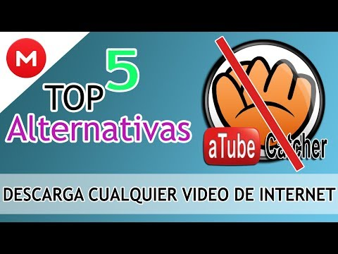 TOP 5 ALTERNATIVAS Linux/Windows ATUBE CATCHER +  DESCARGA CUALQUIER VIDEO