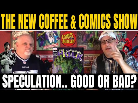 Comic Book Speculation Good Or Bad? Coffee & Comics #59 Comic Book Review And Haul