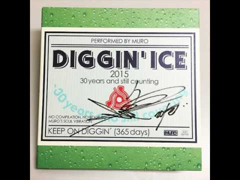 DJ Muro - Diggin' Ice 2015 (30 Years And Still Counting)