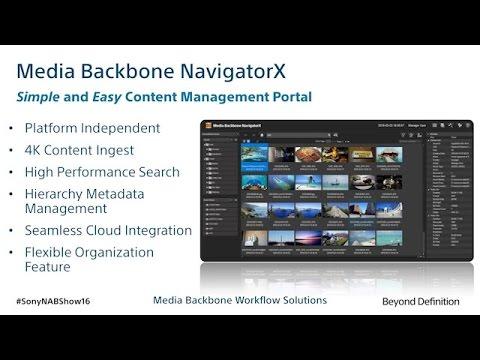 Media Backbone NavigatorX