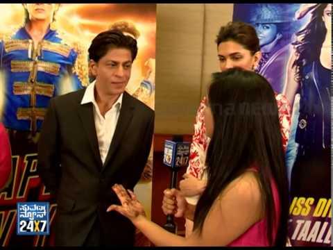 Shahrukh khan & Deepika's Exclusive...